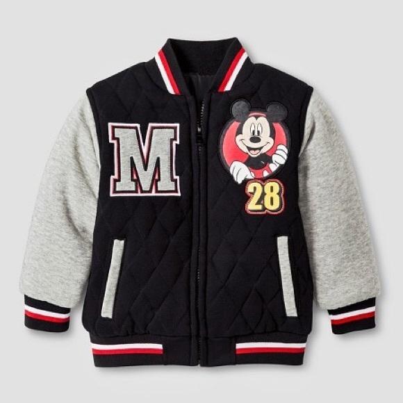 NWT Disney Store Boy Mickey Mouse Hoodie Jacket many sizes